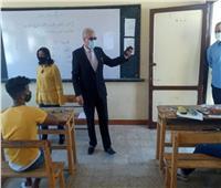 «عجلان» يتفقد لجان امتحانات «الإعدادية» بالإسماعيلية