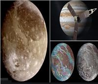 «جونو» تطير بالقرب من أكبر أقمار النظام الشمسي   فيديو