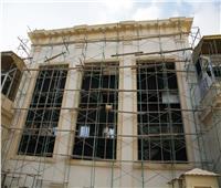 وزير السياحة يتفقد أعمال ترميم وتطوير المتحف اليوناني الروماني | صور
