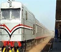 تأخر حركة القطارات على خط «قليوب - شبين القناطر - المنصورة» 35 قيقة
