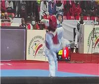 نور حسين تهزم بطلة كينيا وتصعد للدور قبل النهائي
