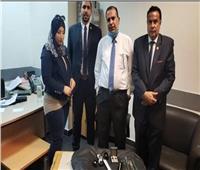 ضبط ساعة رولكس مهربة ومشغولات ذهبية مرصعة بالألماس في مطار القاهرة