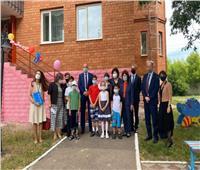افتتاح مبنى صديق للأطفال المهاجرين في كازاخستان