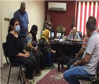 كواليس عودة رئيس حي عين شمس للعمل بعد الشروع في قتله  صور