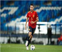 إصابة بوسكيتس بفيروس كورونا واستبعاده من المنتخب الإسباني