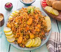 المأكولات البحرية | طريقة عمل «الجمبري» المقشر بالكاري والخضار
