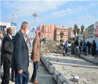 محافظ القليوبية: تطهير شوارع بنها من قبضة الباعة الجائلين والإشغالات