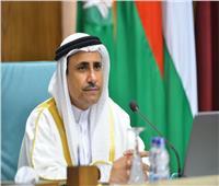 رئيس البرلمان العربي يزورالمصابين الفلسطينيين بمعهد ناصر