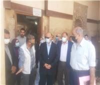محافظ القاهرة يتفقد مشروع الصرف الصحي بمنطقة مسجدى السيدة رقية والسيدة سكينة