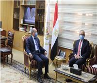 وزير العدل يستقبل سفير المملكة الأردنية الهاشمية بالقاهرة