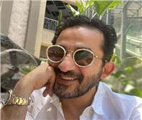 احمد حلمي يكتب رسالة جديدة  .. ويحلف عليها