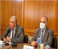وزيرا الري والزراعة يبحثان تفاصيل مشروع التحول لـ «الري الحديث»