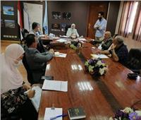 نائب محافظ القاهرة تناقش آليات تنفيذ خطة تطوير حي المقطم