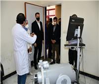 وزير الرياضة ورئيس «مكافحة المنشطات» يتفقدان مستشفى الطب الرياضي