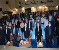 جامعة أسيوط  تشارك في افتتاح المهرجان المسرحي الدولي