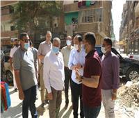 محافظ المنوفية يتفقد الأعمال النهائية لتطوير كوبري مبارك وحديقة 30 يونيو.. صور