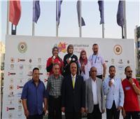 4 ميداليات لسيدات مصر بالبطولة العربية للرماية