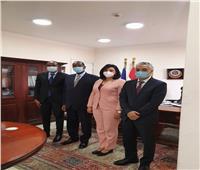 لتعزيز الحركة السياحية.. غادة شلبي تجتمع مع سفير دولة رواندا