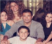 أول تعليق من زينة عاشور عن مرض ابنتها جانا عمرو دياب