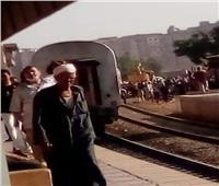 أول إجراء من «السكة الحديد» بعد خروج قطار بنها عن القضبان