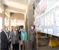 رئيس هيئة تمويل العلوم والتكنولوجيا والابتكار يختتم زيارته لجامعة أسيوط