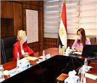 التخطيط تستعرض خطة تنمية الأسرة في لقاء ممثلة صندوق الأمم المتحدة للسكان