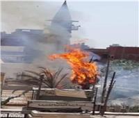 حريق هائل بمتحف أحمد عرابي في الشرقية
