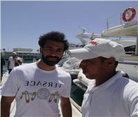 ننشر كواليس رحلة محمد صلاح البحرية في مدينة الجونة | صور