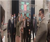 «القومي لأسر الشهداء» يصطحب العاملين لزيارة المتحف القومي للحضارة..صور