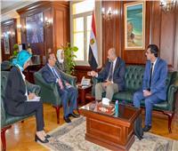محافظ الإسكندرية يناقش مع مدير شركة سيتيك الفرنسية تعزيز سبل التعاون