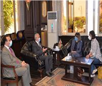 محافظ الأقصر يستقبل المنسق المقيم للأمم المتحدة فى مصر