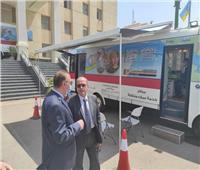 مياه الإسكندرية: سيارات الخدمة المتنقلة تهدف لأداء الخدمة في أسرع وقت