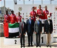 وزير الرياضة يكرم الفائزين لمنافسات «تارجت سبرنت» ضمن البطولة العربية للرماية