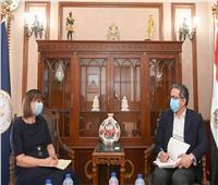 وزير السياحة والآثار يستقبل المُنسق المقيم للأمم المتحدة في مصر