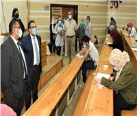 جولة تفقدية لنائب رئيس جامعة عين شمس بكلية طب الأسنان