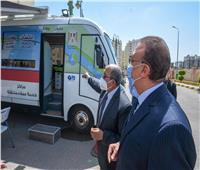 تشغيل سيارات خدمة العملاء المتنقلة لشركة مياه الشرب بالإسكندرية