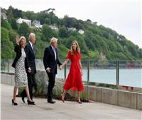 أول ظهور رسمي لرئيس وزراء بريطانيا بوريس جونسون مع زوجته   صور