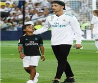 هل يحقق كريستيانو رونالدو حلم ابنه؟