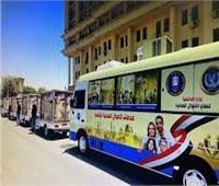 سيارات الأحوال المدنية المتنقلة تجوب القرى لاستخراج بطاقات الرقم القومي