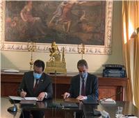 وزير التعليم العالى ونظيره البرتغالى يوقعان مذكرة تفاهم للتعاون المشترك   صور