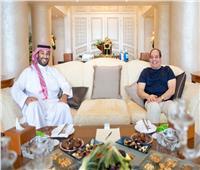 الرئيس السيسي خلال لقائه بولي العهد السعودي: أؤكد اعتزازي بعلاقاتنا المتميزة مع المملكة