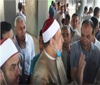 وزيرالأوقاف يأمر بسرعة ترميم مسجد بقرية القراموص في الشرقية بعد حريقه