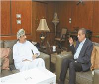 حوار  سفير سلطنة عمان بالقاهرة: دور مصر مهم في قيادة العالم العربي برعاية الرئيس السيسي