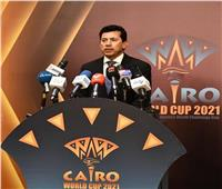وزير الرياضة يهنيء لاعبي منتخب الخماسي الحديث بالتأهل لنهائي بطولة العالم
