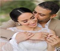 بسنت شوقي تدخل وصلة رقص في حفل زفافها على محمد فراج | فيديو