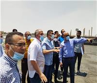 مسئولو «جهاز 6 أكتوبر» يتفقدون مشروع «تقاطع 8 كوبري/ نفق»