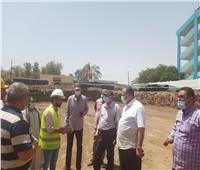 متابعة دورية لمشروعات المبادرة الرئاسية لتطوير الريف المصري في أسيوط