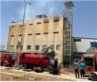 نيابة «السادات» تباشر تحقيقاتها فى حريق بمحطة للصادرات الزراعية