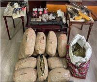 خلال أسبوع.. سقوط 1443 متهمًا بـ1.5 طن مخدرات و67 ألف قرص مخدر