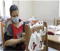 «قومي المرأة» ينظم ورشة لتدريب الفتيات على حرفة التطريز والخياطة